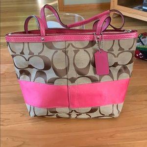 Coach Pink medium bag